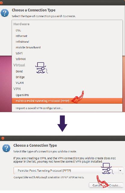 آموزش vpn در لینوکس