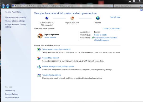 اشتراکگذاری اتصال VPN در ویندوز