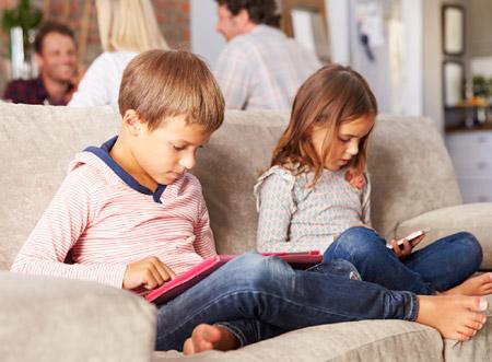 تاثیر تکنولوژی در کودکان