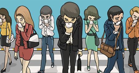استفاده از گوشی در فضای عموم