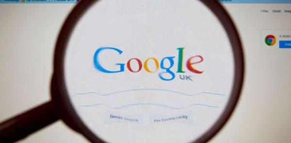 جستجوی گوگل در انگلستان