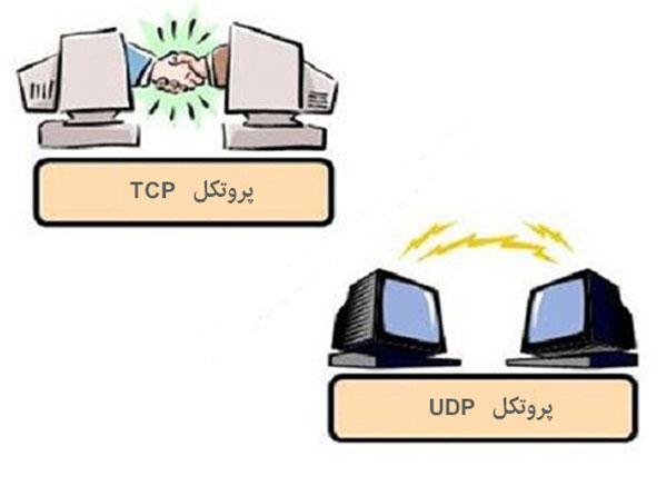 تفاوت UDP و TCP