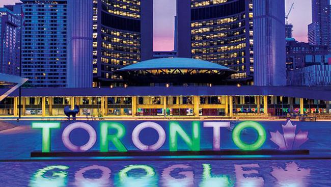 شهر هوشمند تورنتو